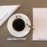 kahvikuppi, kynä